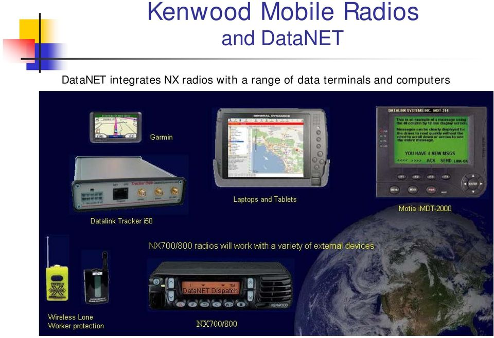 NX radios with a range of