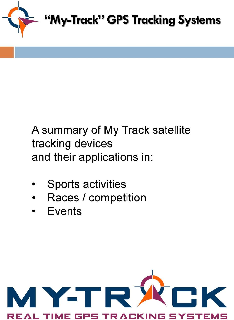and their applications in: