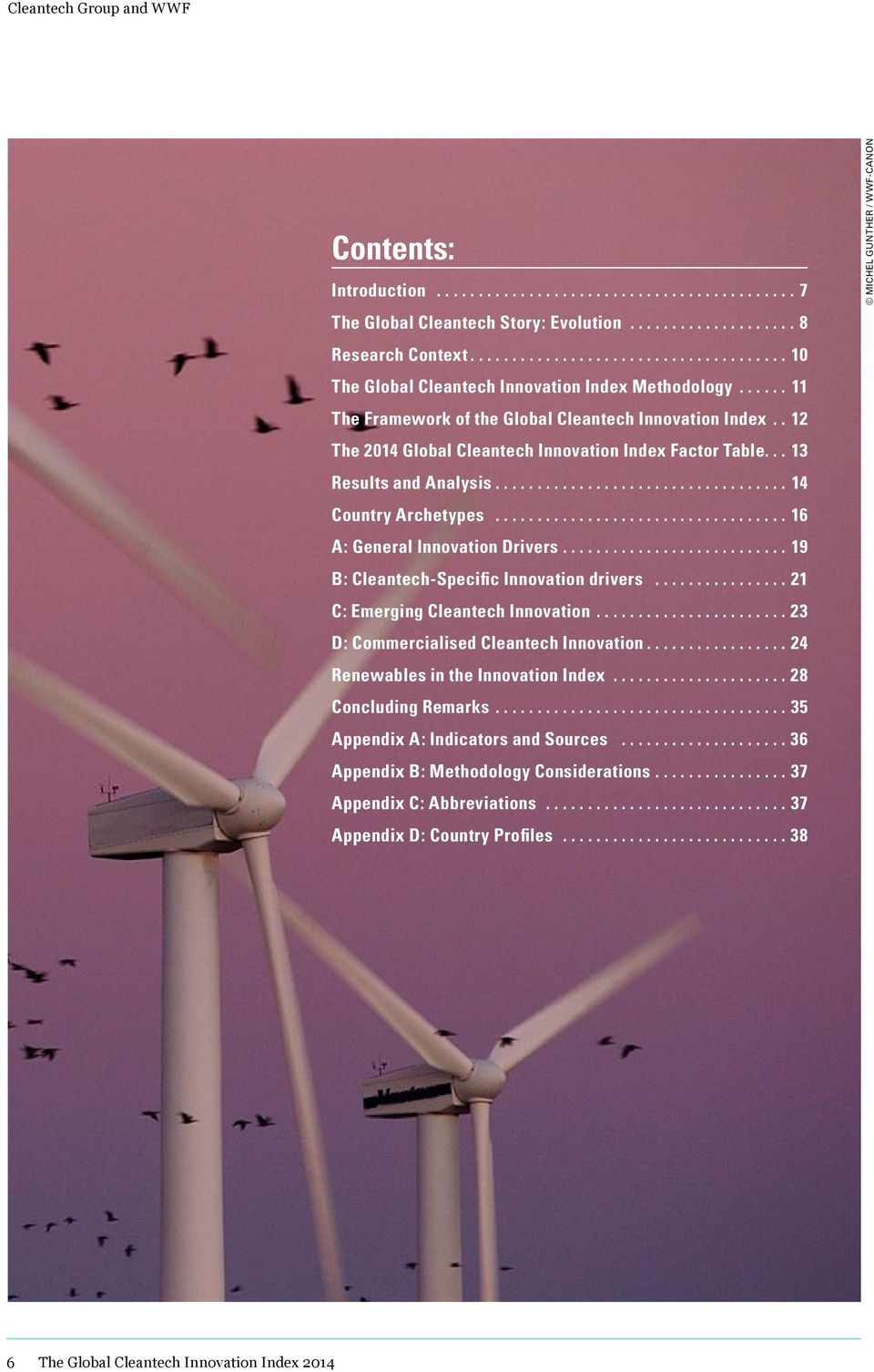 21 C: 23 D: 24 Renewables in the Index 28 Concluding Remarks 35 Appendix A: Indicators and Sources 36 Appendix B: Methodology