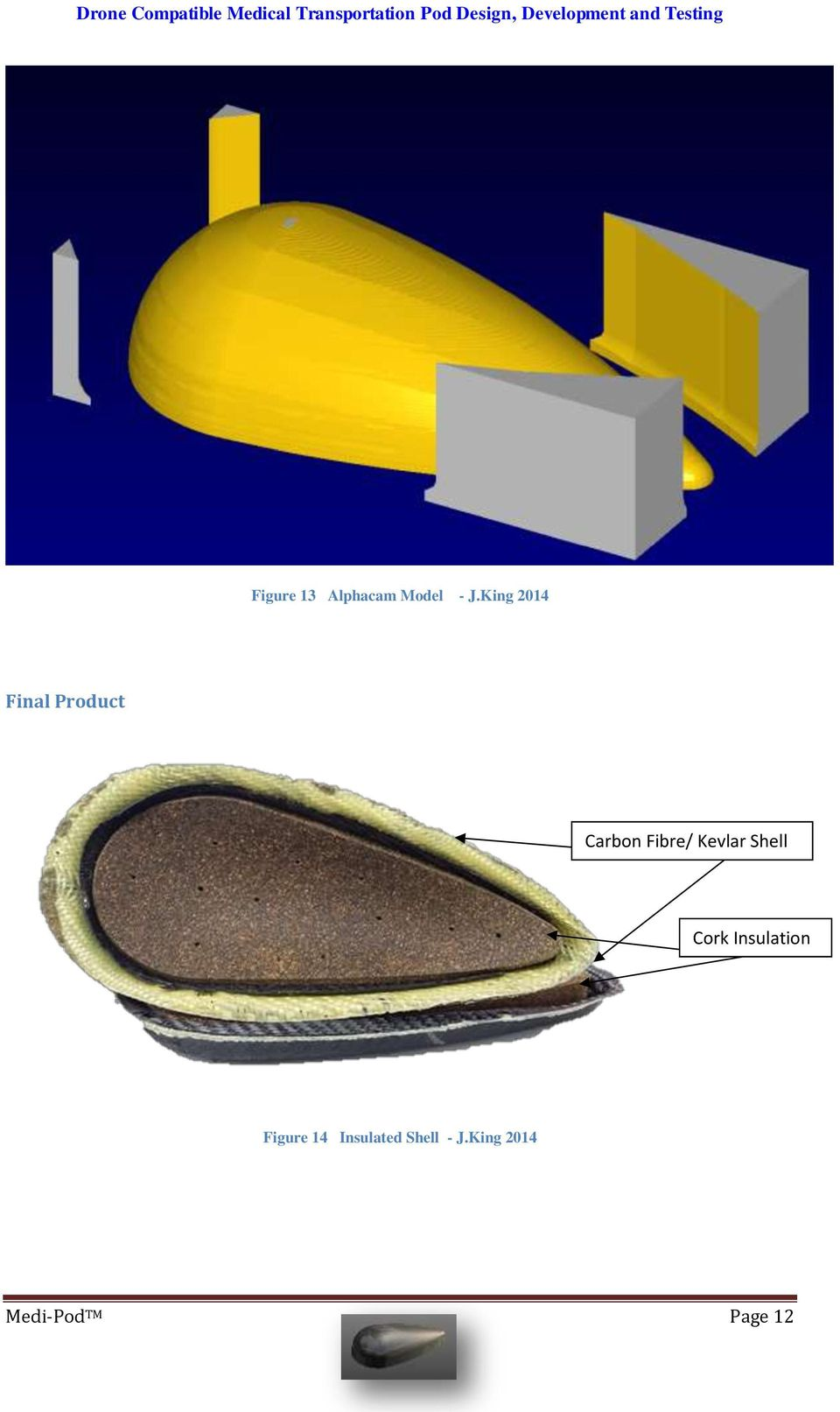 Kevlar Shell Cork Insulation Figure 14