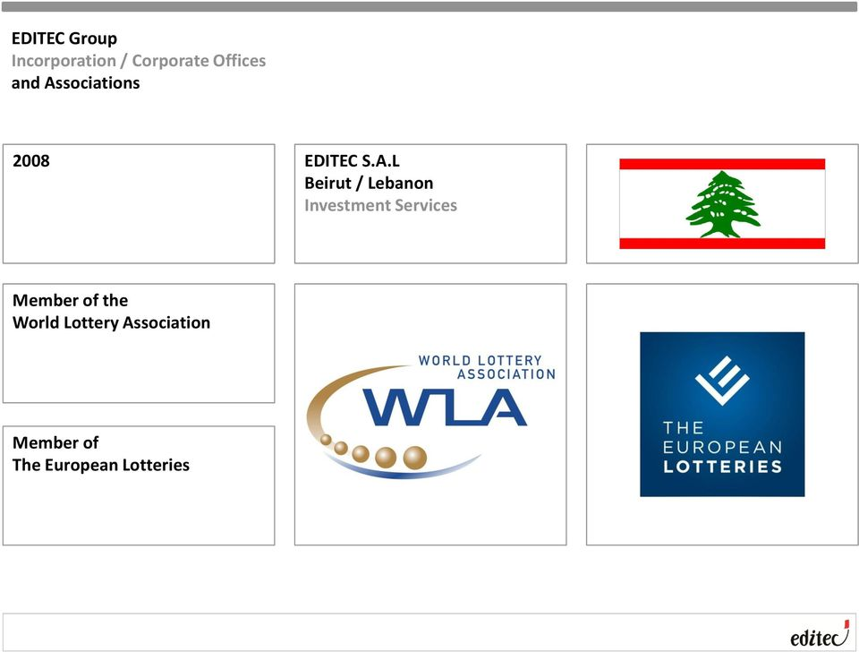 Lebanon Investment Services Member of the