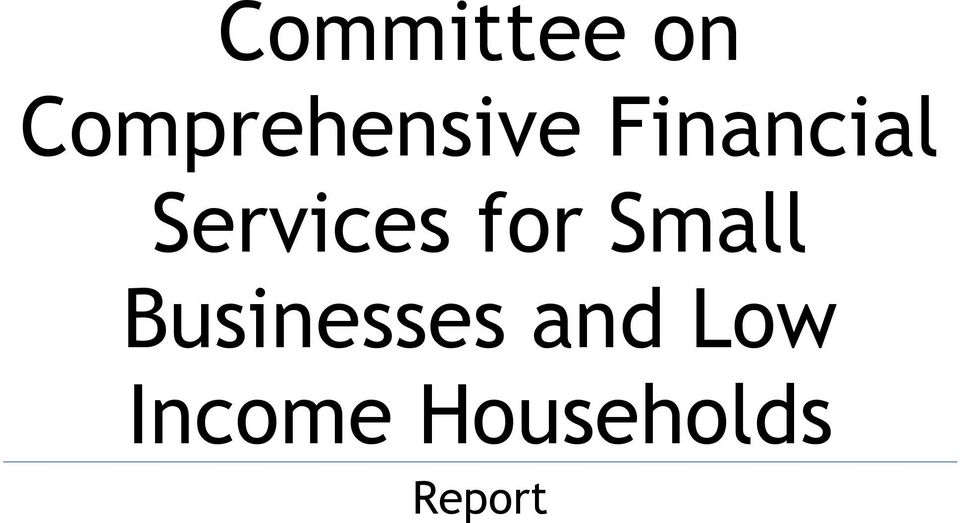 Services for Small