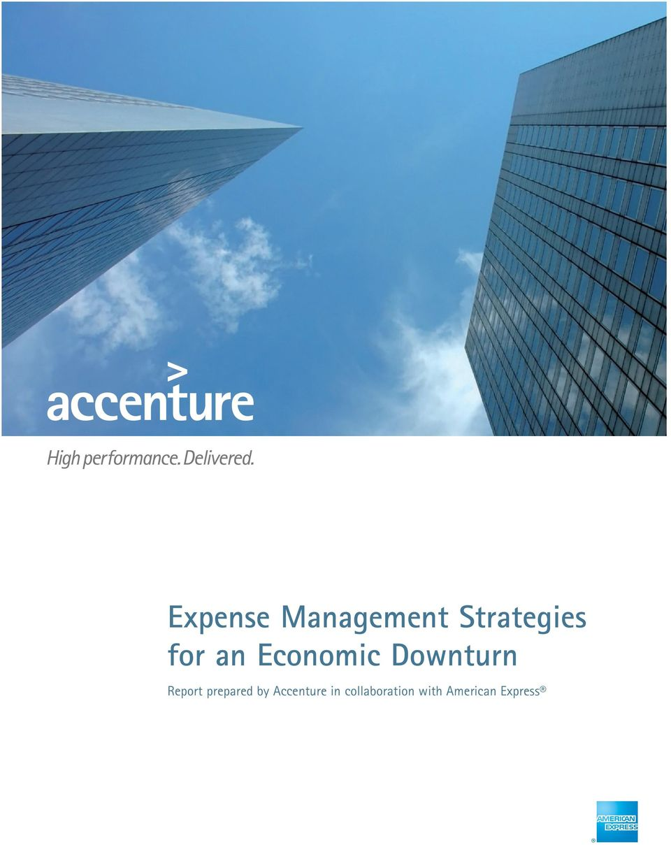 Report prepared by Accenture