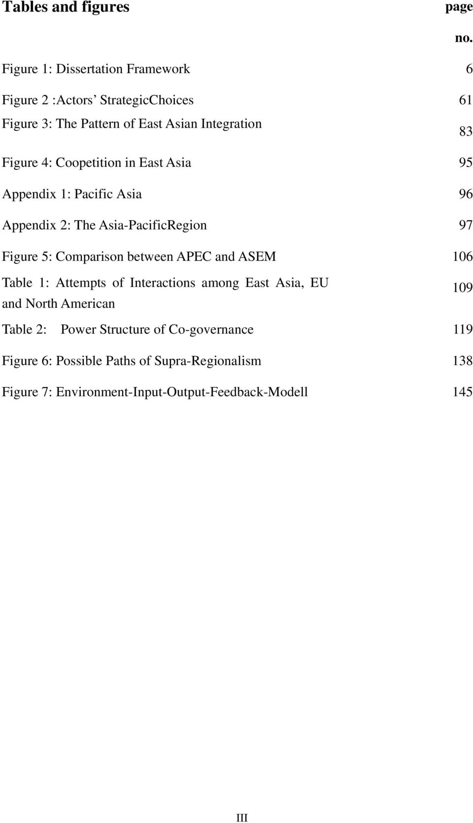Asia-PacificRegion 97 Figure 5: Comparison between APEC and ASEM 106 Table 1: Attempts of Interactions among East Asia, EU and North