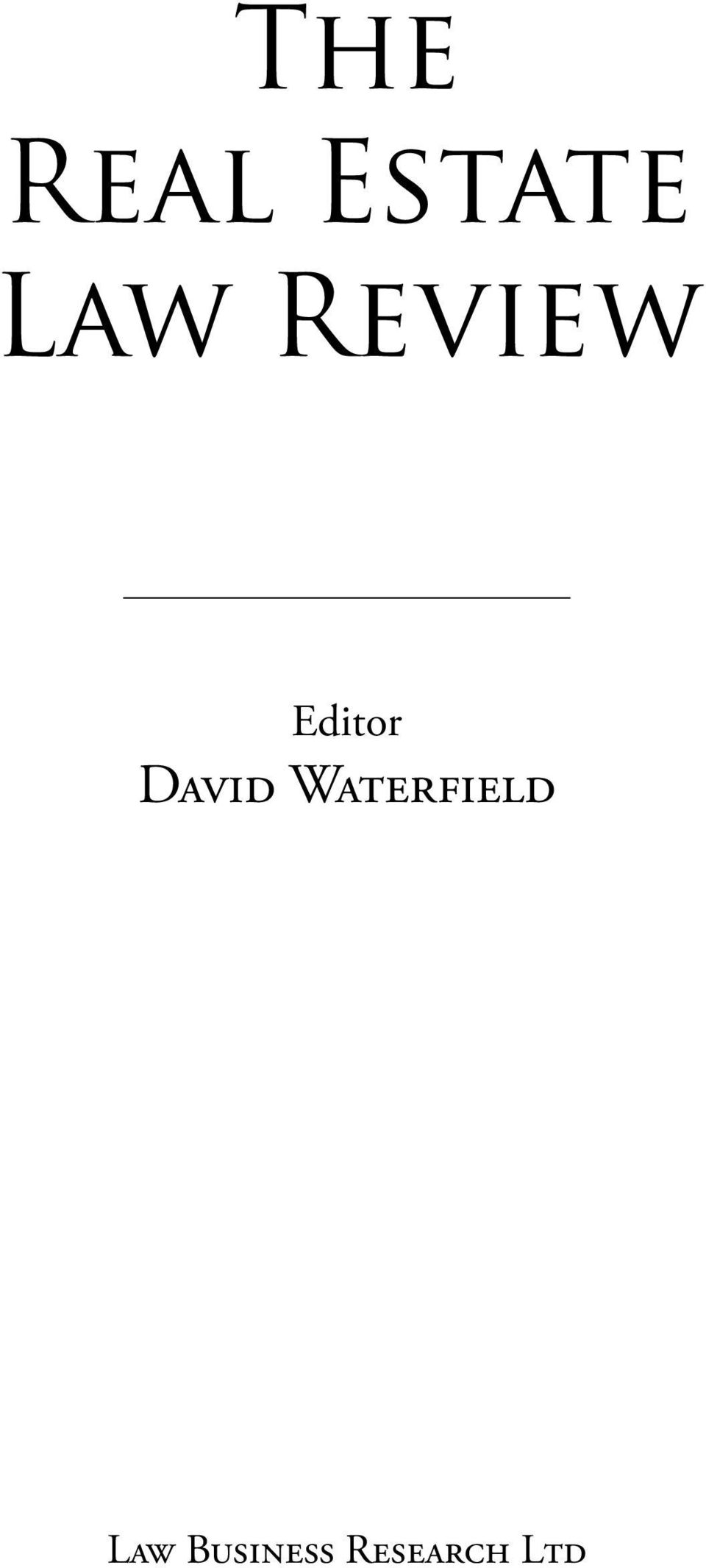 David Waterfield