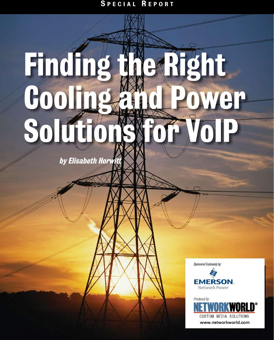 Power Solutions for VoIP by