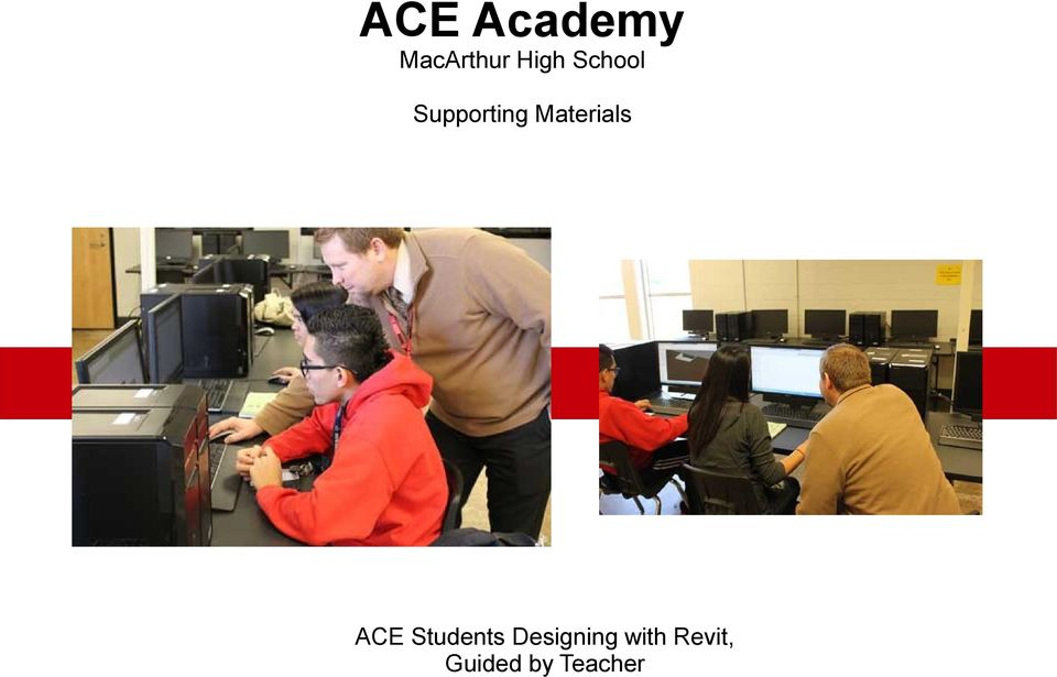 Materials ACE Students