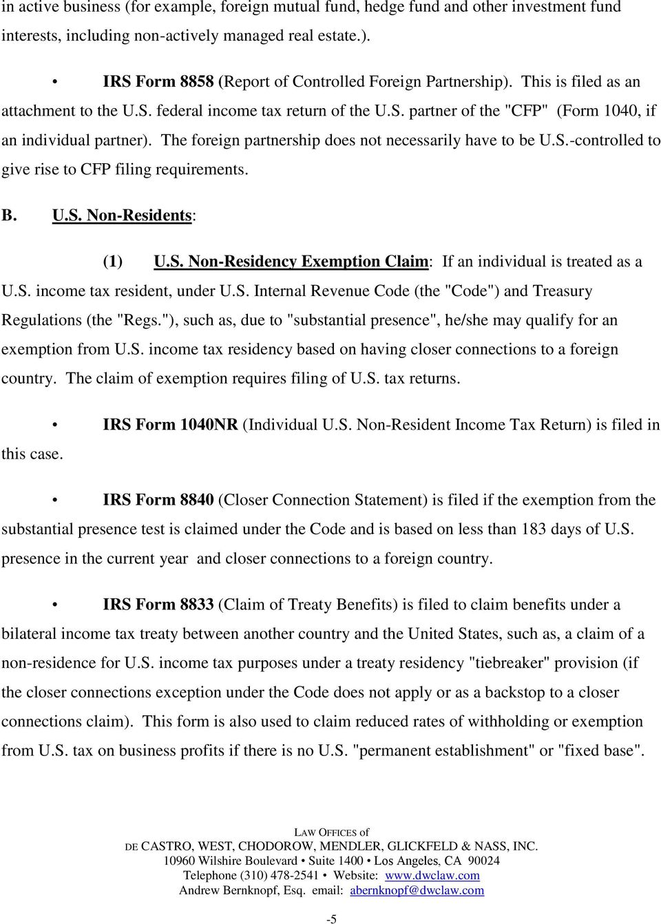 Corrective U S  Tax Compliance for Dual Status and Foreign