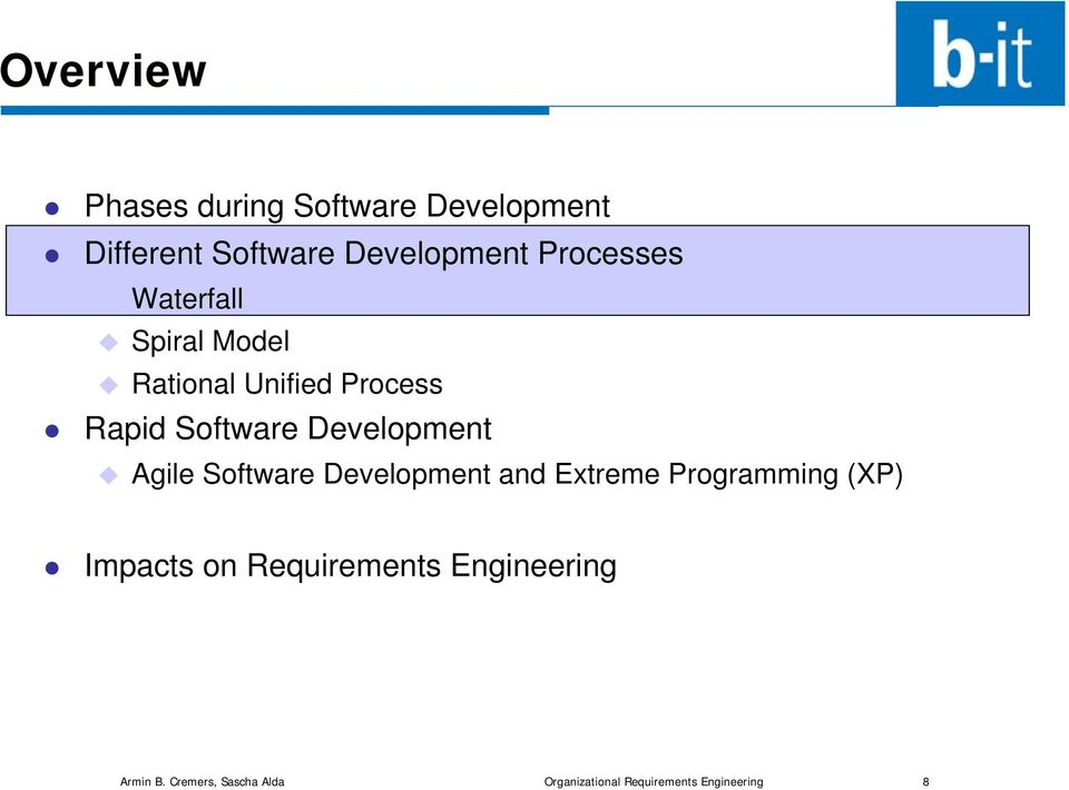 Development Agile Software Development and Extreme Programming (XP) Impacts on