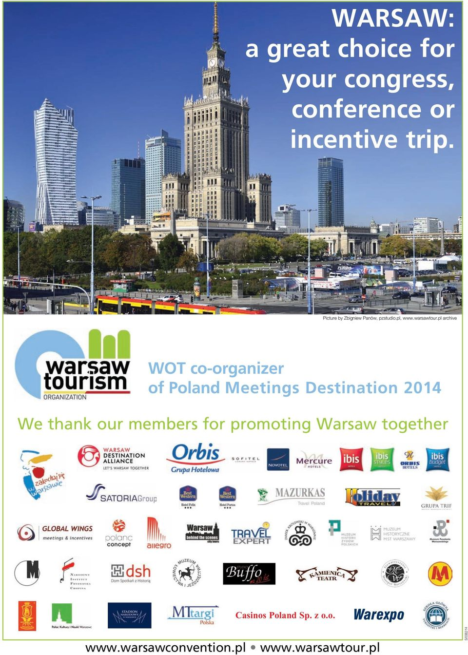 pl archive WOT co-organizer of Poland Meetings Destination 2014 We thank our