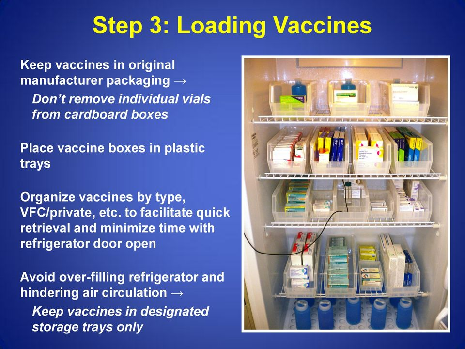 Vaccine Data Loggers : Guidelines for storage and temperature monitoring of