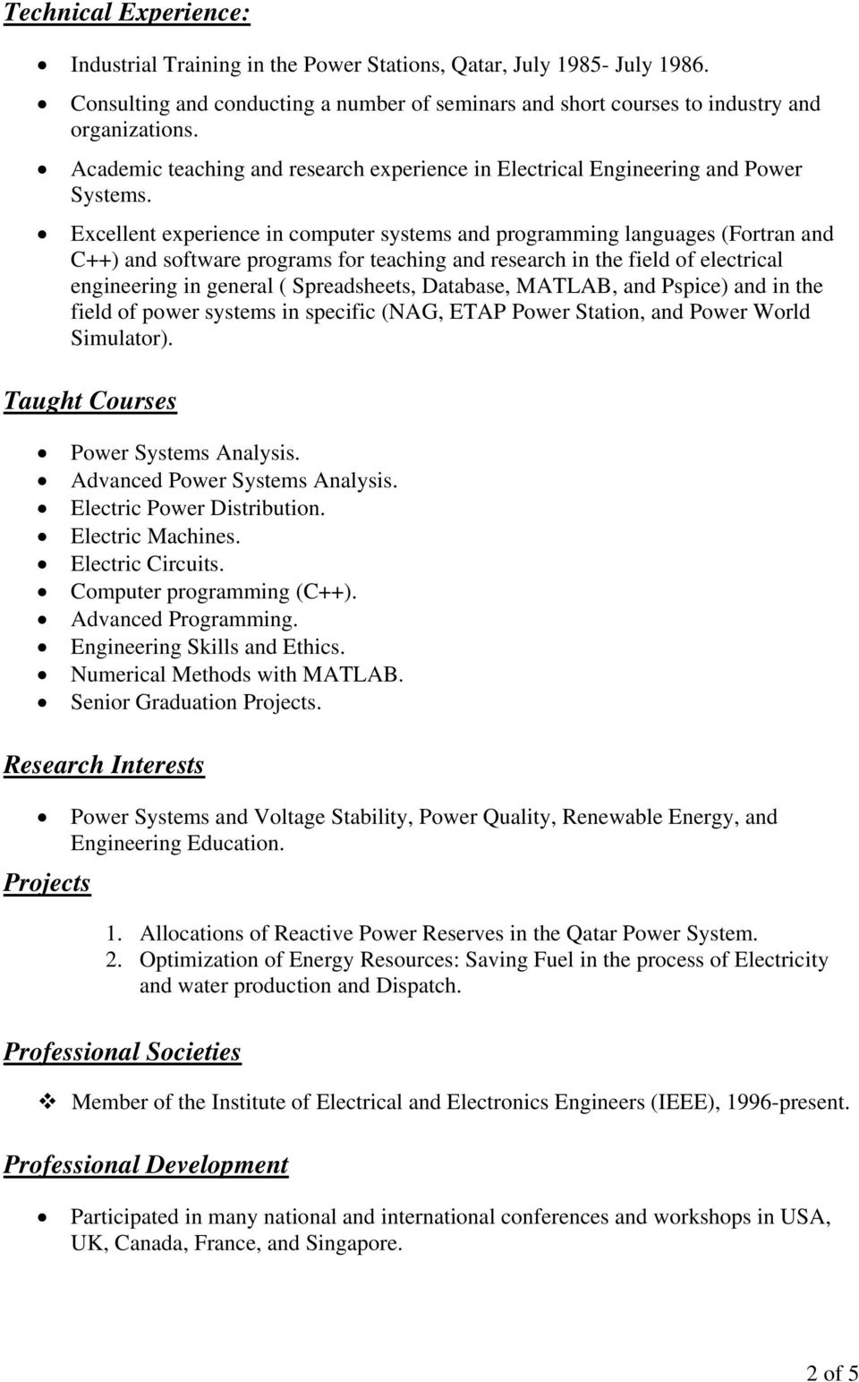 Matlab Programs For Power System Analysis