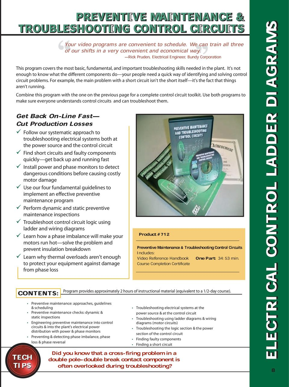 Electrical and Motor Controls Video Training Series - PDF