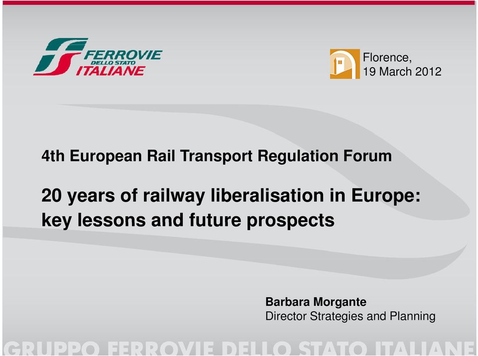 liberalisation in Europe: key lessons and future