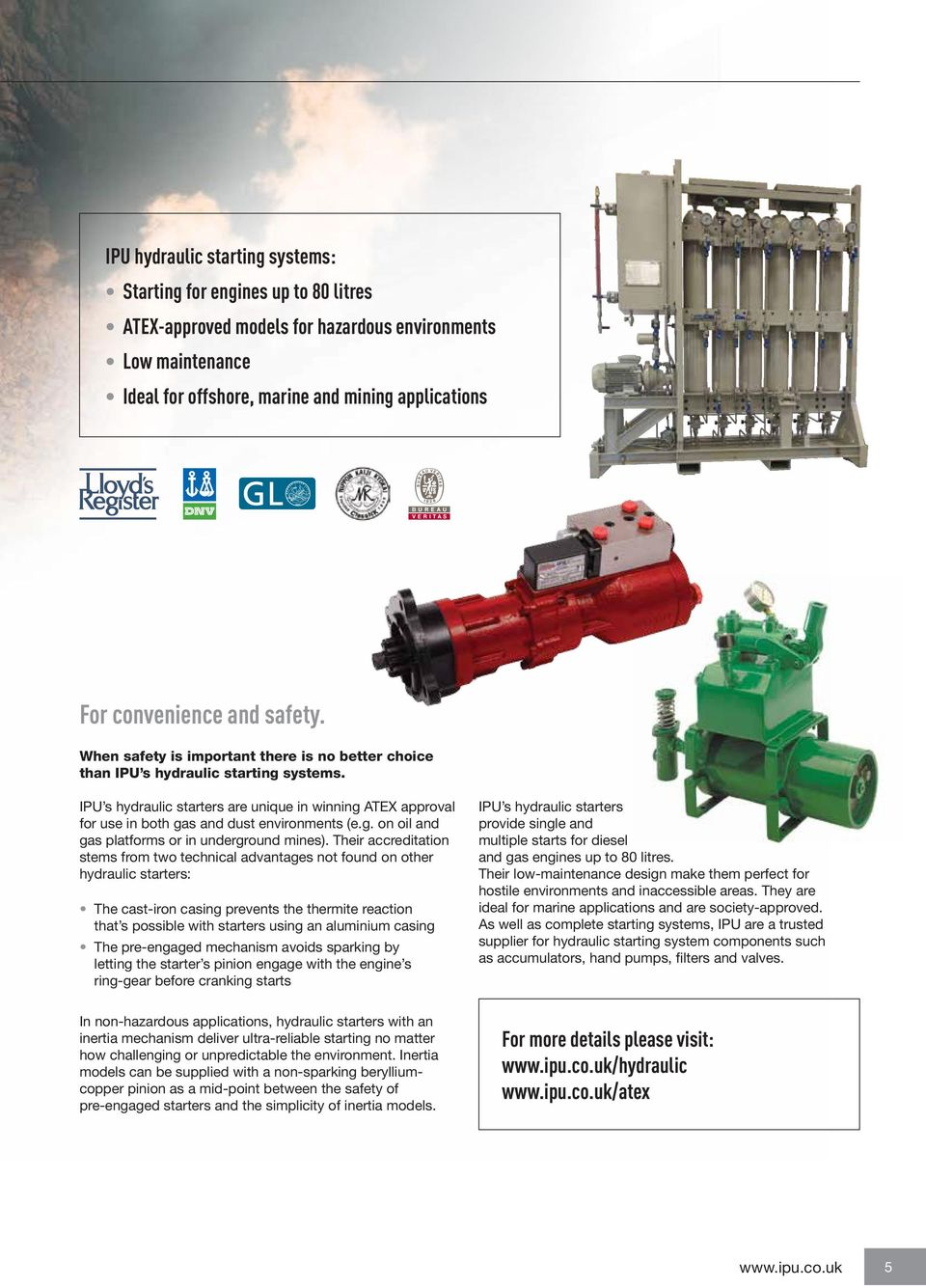 safe and reliable engine starting - PDF