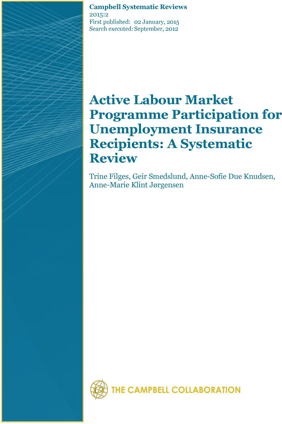 Participation for Unemployment Insurance Recipients: A Systematic
