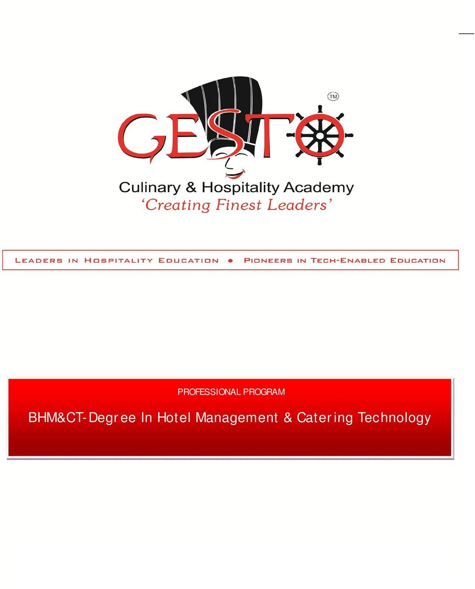 BHM&CT-Degree In