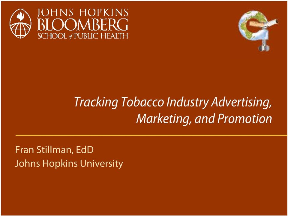 Tracking Tobacco Industry