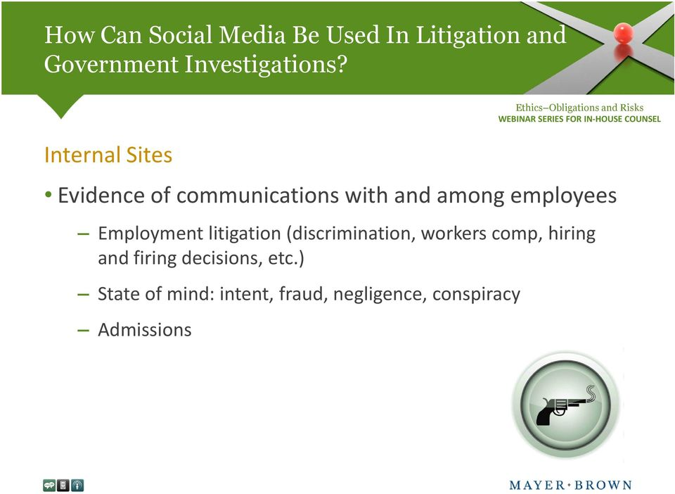 Employment litigation (discrimination, workers comp, hiring and firing