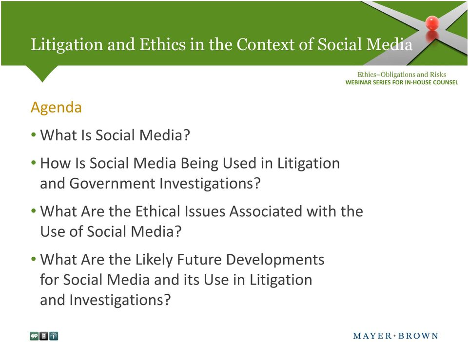 What Are the Ethical Issues Associated with the Use of Social Media?