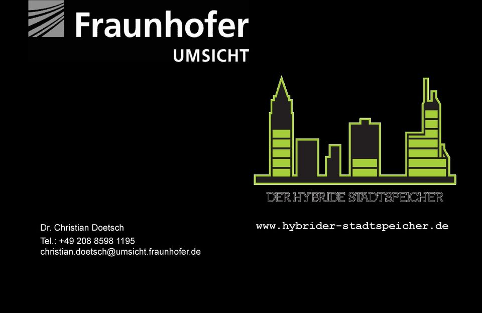 : +49 208 8598 1195 christian.doetsch@umsicht.fraunhofer.