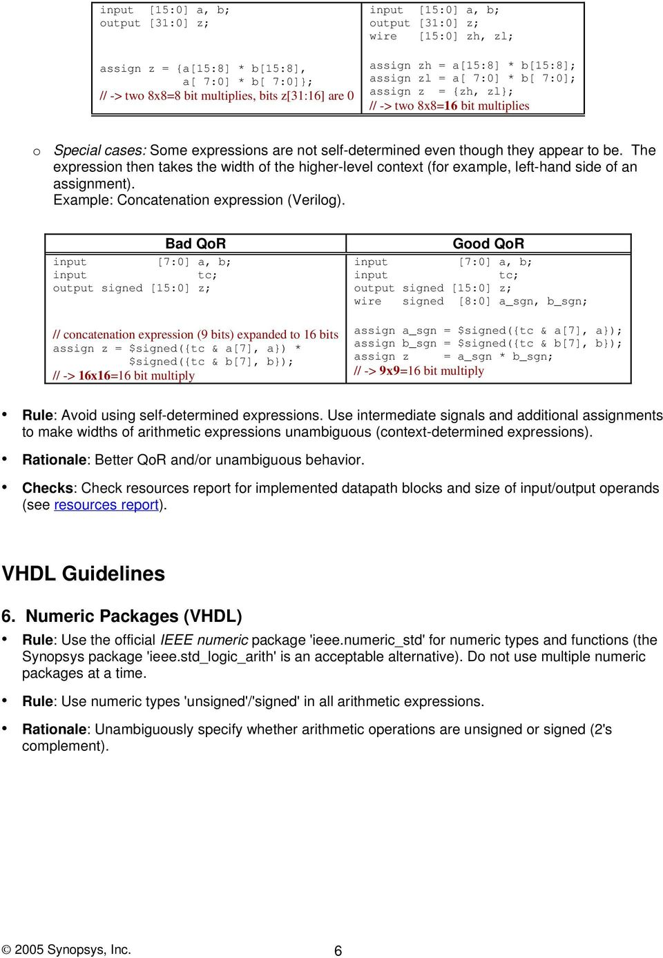 Coding Guidelines for Datapath Synthesis - PDF Free Download