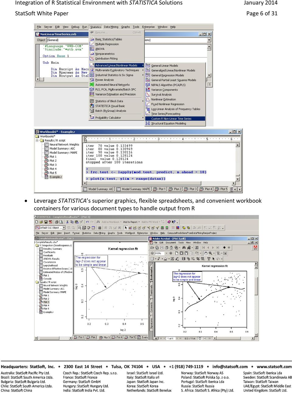 spreadsheets, and convenient workbook