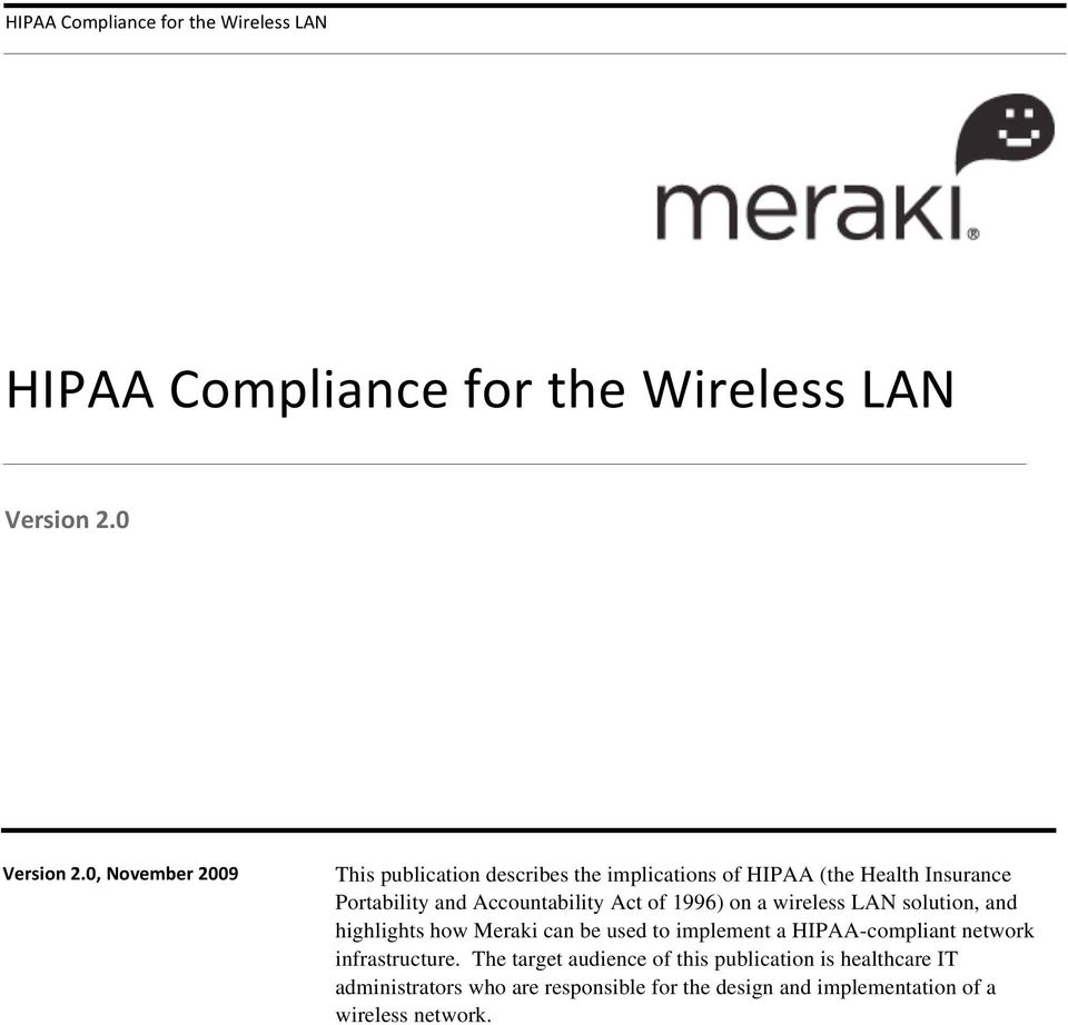implement a HIPAA-compliant network infrastructure.