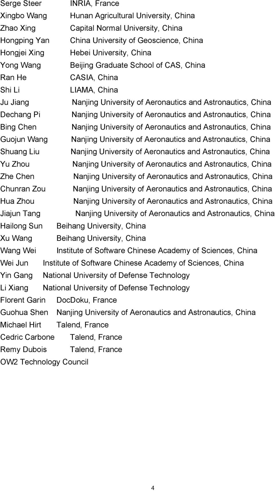 Aeronautics and Astronautics, China Bing Chen Nanjing University of Aeronautics and Astronautics, China Guojun Wang Nanjing University of Aeronautics and Astronautics, China Shuang Liu Nanjing