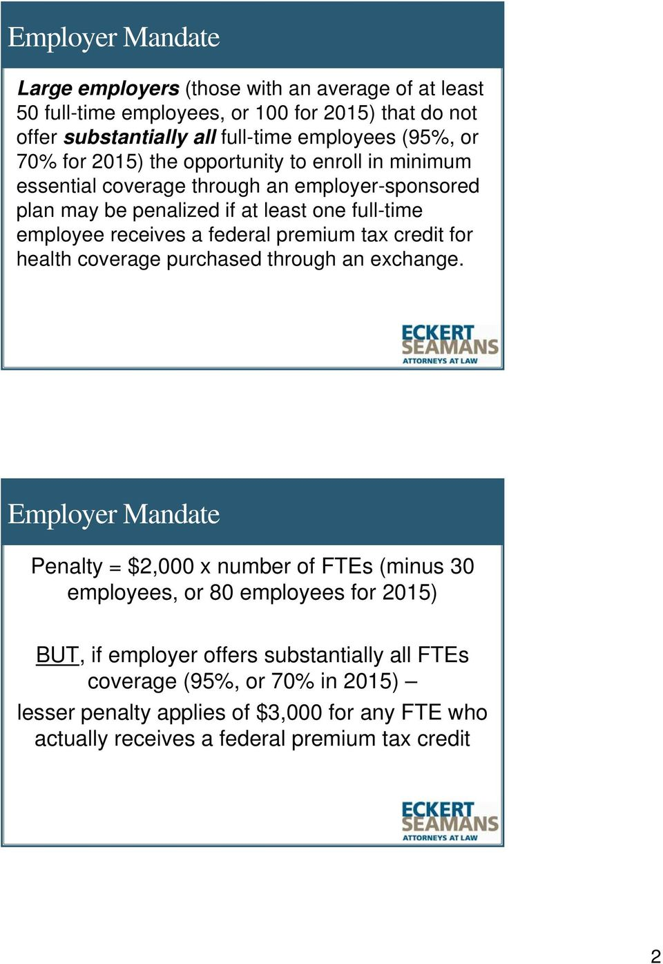 federal premium tax credit for health coverage purchased through an exchange.