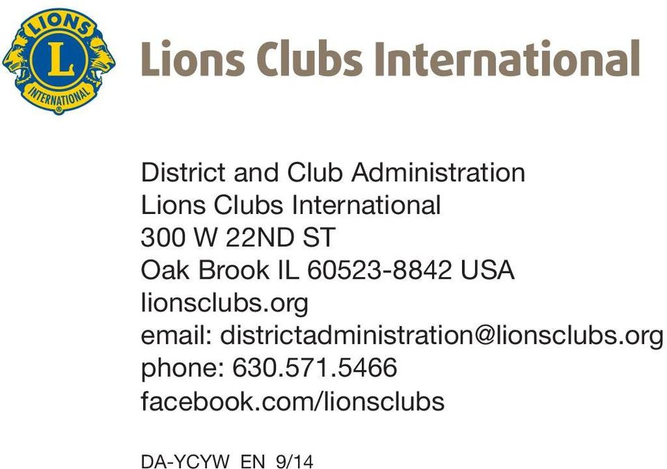 USA lionsclubs.