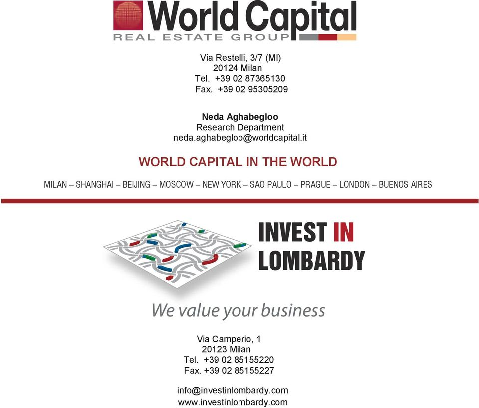 it WORLD CAPITAL IN THE WORLD MILAN SHANGHAI BEIJING MOSCOW NEW YORK SAO PAULO PRAGUE LONDON