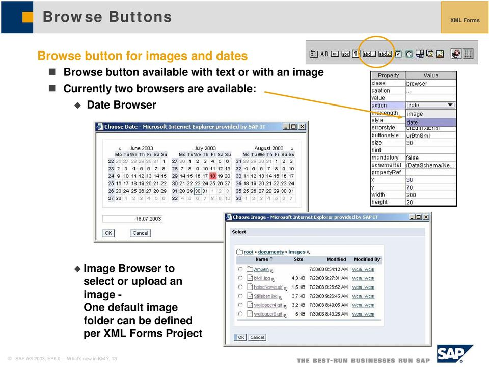 Date Browser Image Browser to select or upload an image - One default image