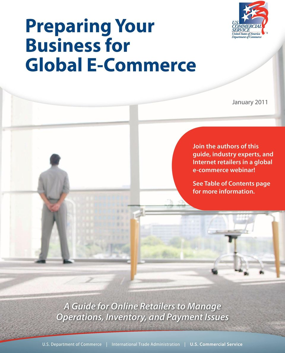 global e-commerce webinar!