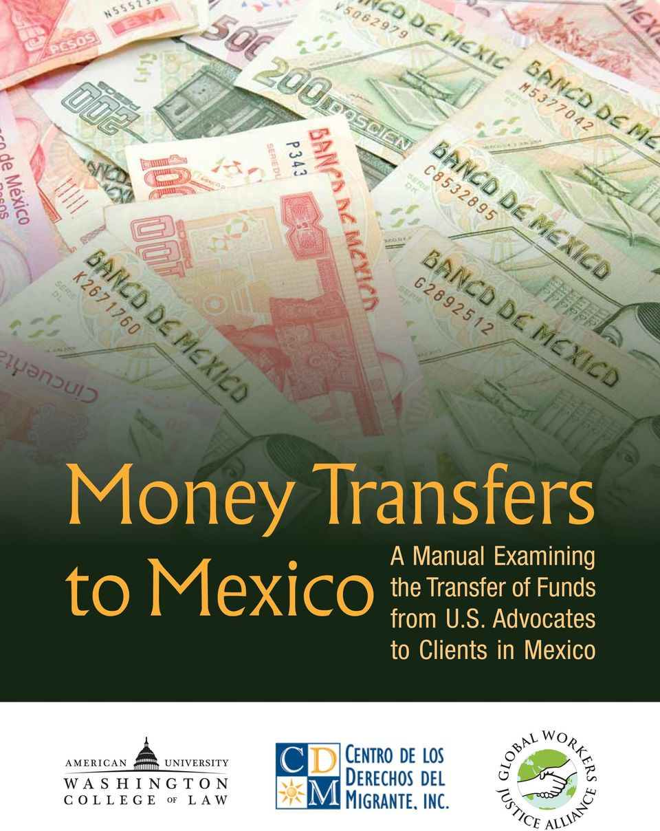 Transfer of Funds from U.S.
