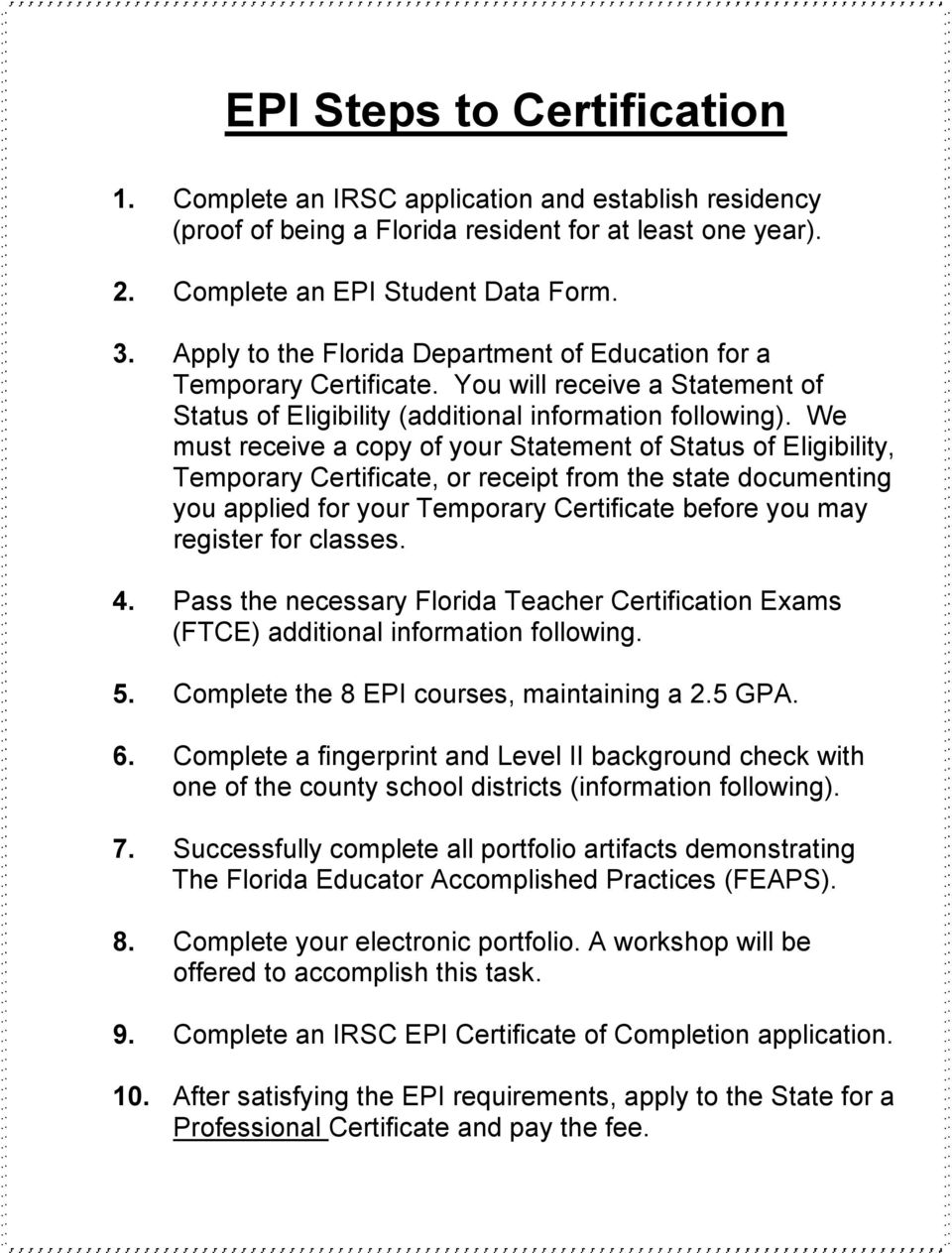 Fl Dept Of Education Certification Lookup The Best Education 2018