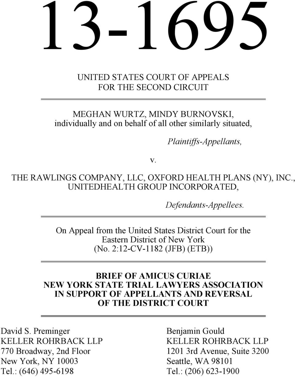 On Appeal from the United States District Court for the Eastern District of New York (No.