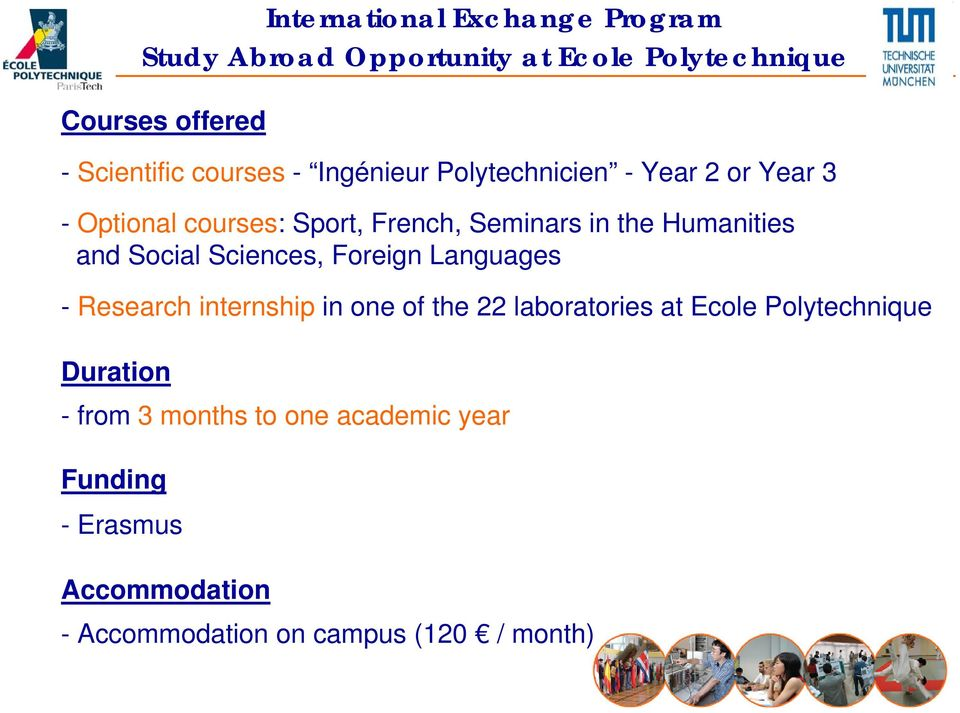 Humanities and Social Sciences, Foreign Languages - Research internship in one of the 22 laboratories at Ecole