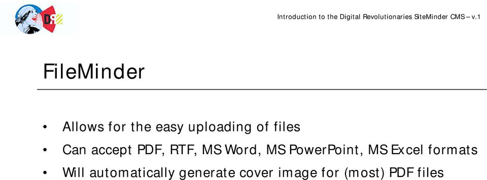 PowerPoint, MS Excel formats Will