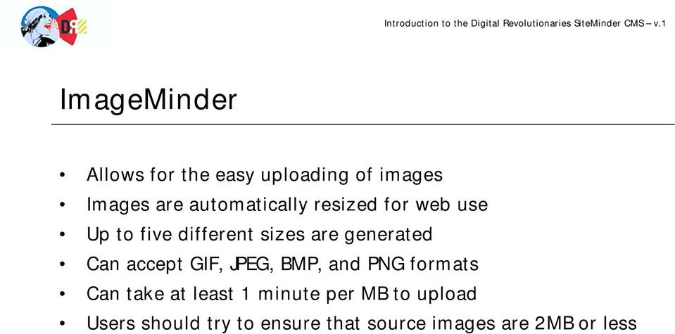 generated Can accept GIF, JPEG, BMP, and PNG formats Can take at least