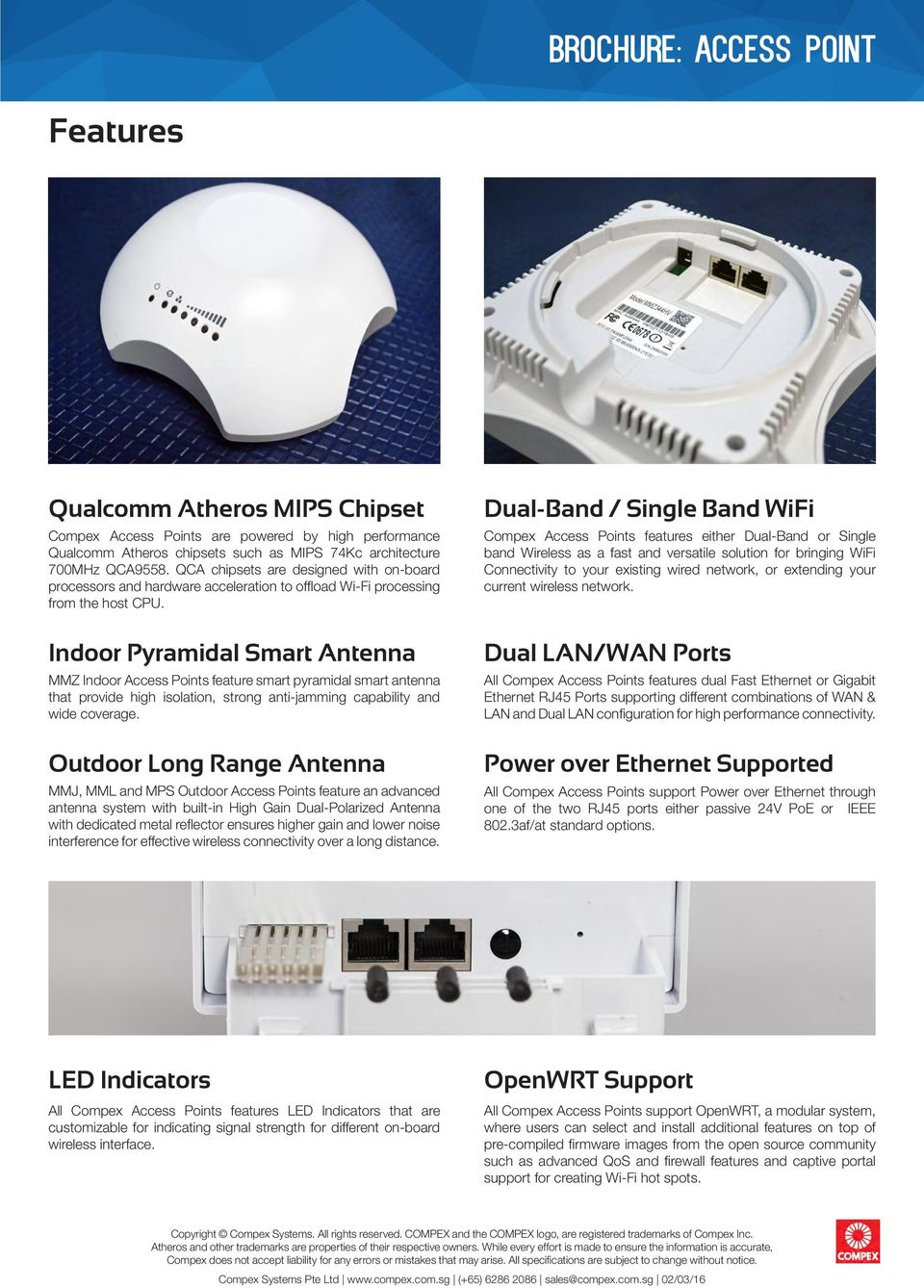 Indoor Pyramidal Smart Antenna MMZ Indoor Access Points feature smart pyramidal smart that provide high isolation, strong anti-jamming capability and wide coverage.