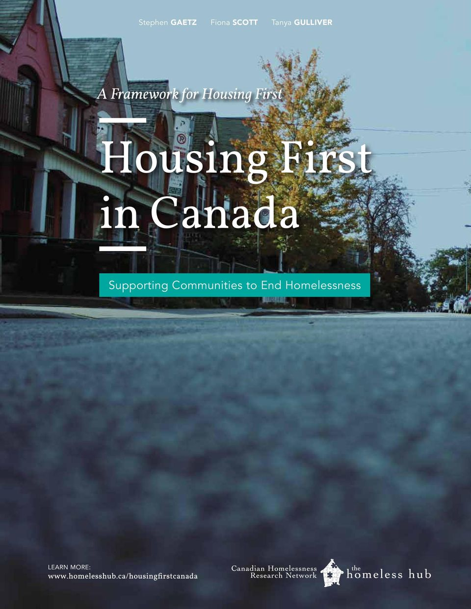 First Housing First in Canada