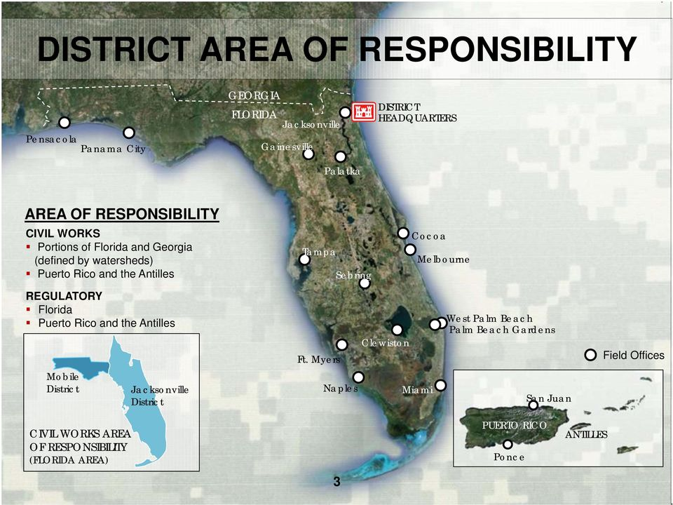 Melbourne REGULATORY Florida Puerto Rico and the Antilles Ft.