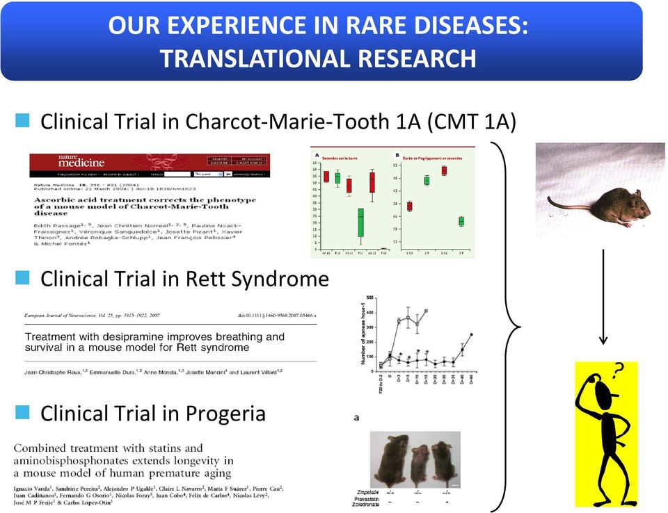 Charcot-Marie-Tooth 1A (CMT 1A) Clinical