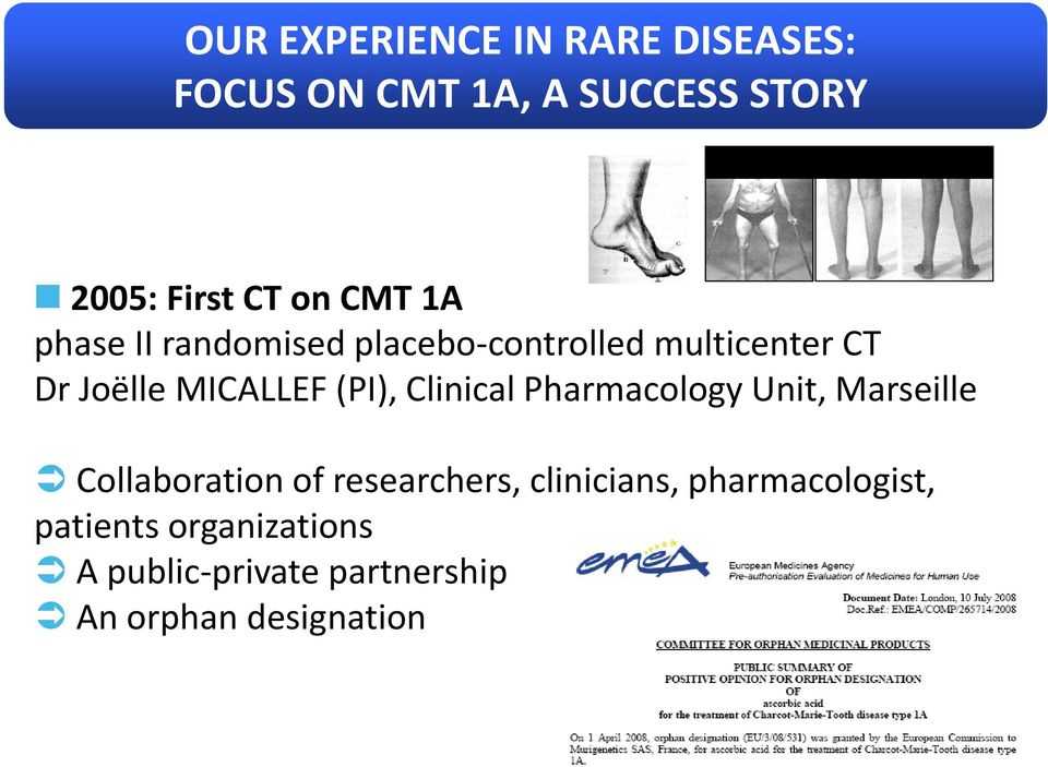 (PI), Clinical Pharmacology Unit, Marseille Collaboration of researchers,