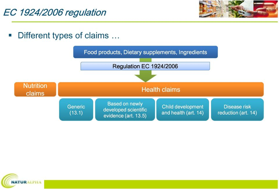 claims Generic (13.1) Based on newly developed scientific evidence (art.