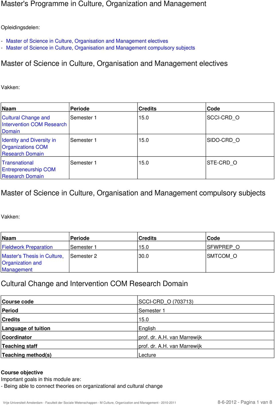 Diversity in Organizations COM Research Domain Transnational Entrepreneurship COM Research Domain Semester 1 15.0 SCCI-CRD_O Semester 1 15.0 SIDO-CRD_O Semester 1 15.