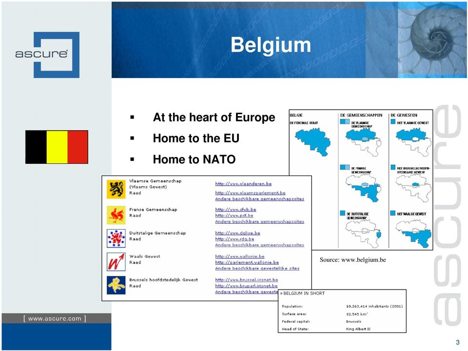 the EU Home to NATO