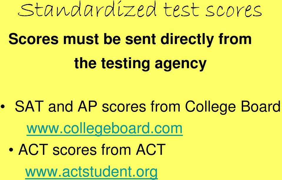 and AP scores from College Board www.