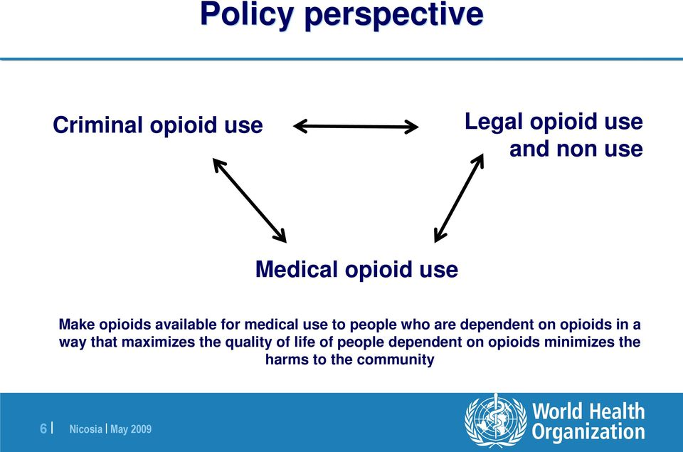 who are dependent on opioids in a way that maximizes the quality of